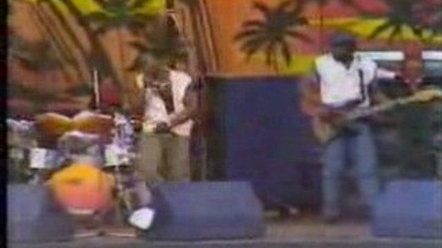 Sugar Minott London Reggae Sunsplash Crystal Palace 1985