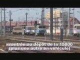 TGV Est : premières rames POS  à Strasbourg  (juin 2007)