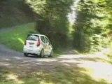 Rallye des trois chateaux 2008 ES9 Latouille épingle