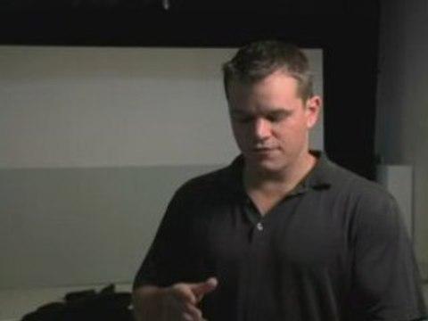 "Matt Damon Speaks about ""ONE"""