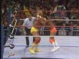 Wwf wrestlemania 5 Hulk Hogan vs Macho Man  part 1