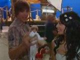 Zac Efron et Vanessa Hudgens sur le tournage de HSM3
