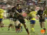 Sonny Bill Williams Try - Toulon v Clermont - Top 14 Rugby