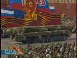 Parade militaire à Moscou le 9 mai 2008