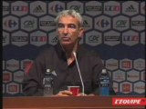 "Domenech ""N°1 Mandanda  N°0 Coupet"" EDF Foot FIFA UEFA"
