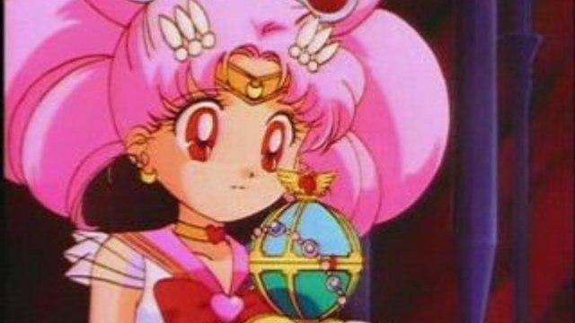 Sailor moon et Sailor Chibi Moon