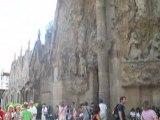 La sagrada de familia- Espagne Barcelone-
