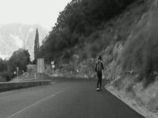 Longboard Rider A FUNNY RIDE