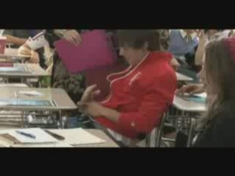 High School Musical 3- Behind-The-Scenes Prank w- Zac Efron