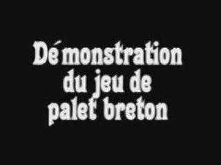 Palet breton - démonstration