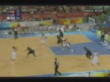 Finale basket  JO 2008 à Pékin  USA-Espagne