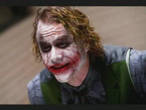 Heath ledger the joker R.I.P