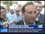 Francois Hollande Bertrand Delanoe la rochelle