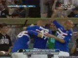 Calcio 2009 : J 1 : Sampdoria - Inter Milan : 1-1
