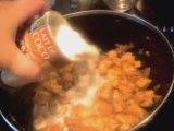 Poulet au lait de coco  feuj juive epices