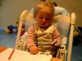 Mélia et son cours de dessin (suite)