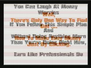 Money Making Opportunities – Just By Clicking Your Mouse