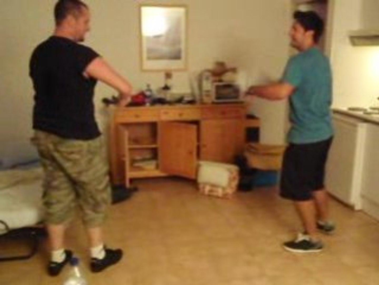 Bataille de torchons entre 2 boulets