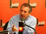 François Bayrou - France Inter