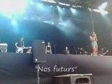 Jenifer à Châlons - Nos futurs, Au soleil (31 aout 2008)