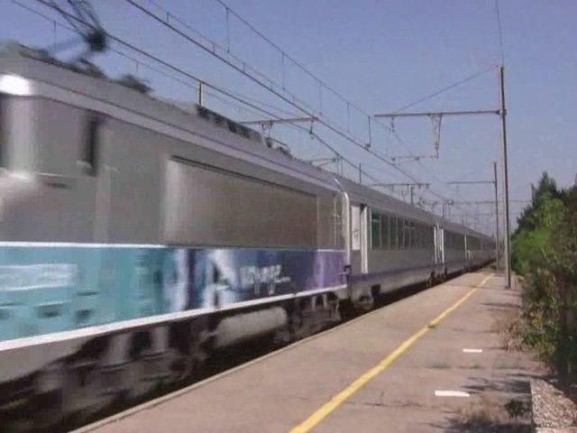 26. TRAINS ET TGV DANS LE SUD ... V ... partie 1