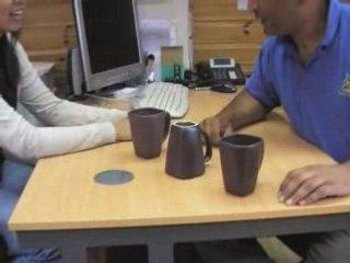 Mugs Down Trick by www.winegifts4u.co.uk