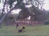 Yohan doble back(on grass attemp) (Freefly)