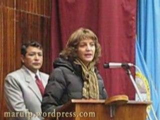Estreno Don Melcho amigo enemigo en Huancavelica