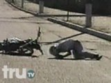 Most Daring - Motorcycle Stunt Crash from TruTV.com