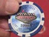 Las Vegas Laser Poker Chips
