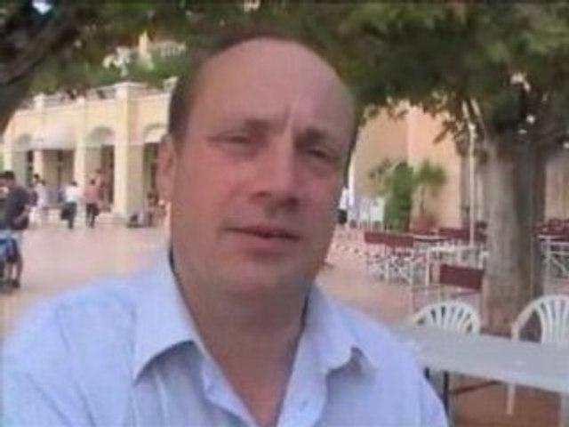 Pierre Creuzet à l'Université d'été du MoDEm
