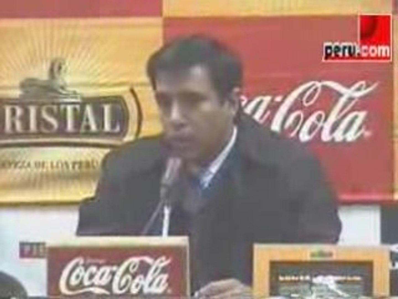 Declaraciones Cesar Farias- Perú-Venezuela -06/09/08- 1de2