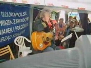 Krzysztof Daukszewicz - Protest pielęgniarek
