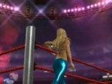 Smackdown vs Raw 2009 Kelly kelly entrance & finisher
