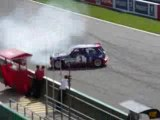 Jean Ragnotti au world series Renault 2008