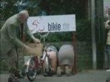 humour garage à vélos