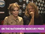 Robert Plant & Alison Krauss on the Mercury Prize nomination