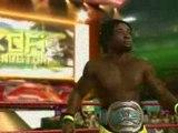 Smackdown vs Raw 2009 kofi kingston finisher & entrance