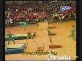 REGIS LE CON et sa famille à la gymnastique