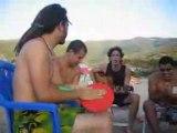 algérie Annaba 2007 guesra fi seraidi a la grande plage...