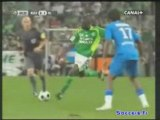 Hugo Lloris VS Saint-Etienne (08-09)