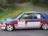 Rallye historique r11 turbo sur les routes aveyronnaises