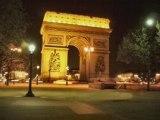 Dans la corniche en Paris (own composition + images Paris)