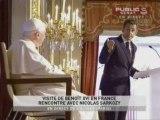 Discours du pape Benoît XVI et de Nicolas Sarkozy
