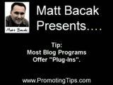 Marketing Tips | FAQ about RSS feeds and blogs By Matt Bacak