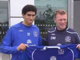 Everton manager David Moyes on his new signing