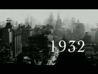 1932 - le Système Américain contre l'Empire Britannique affiche