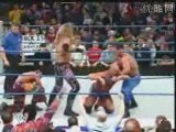 Rey Mysterio, Edge & Chris Benoit Destroy Kurt Angle 23.1.03