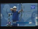Fabrice Meunier, finale au tir à l'arc, Paralympiques 2008