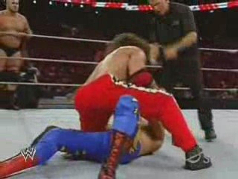 Ricky Ortiz & Evan Bourne vs Chavo Guerrero & Bam Neely